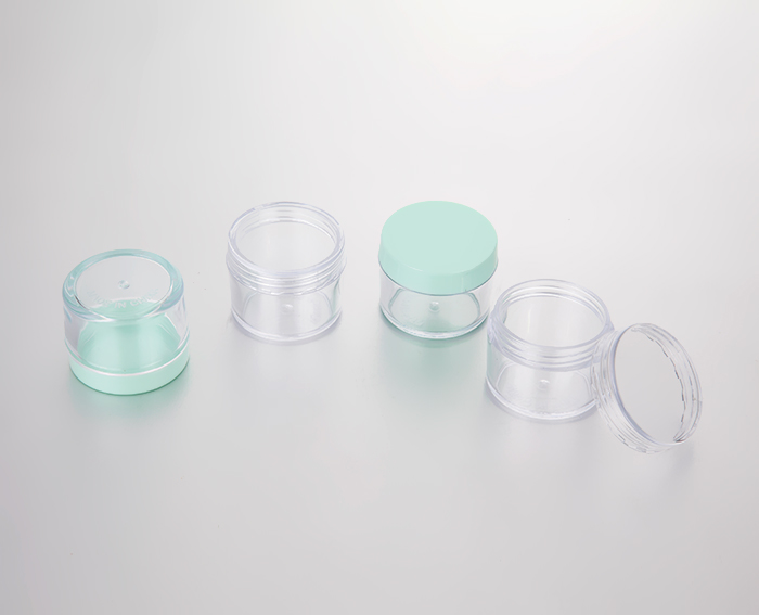 15g empty cosmetic plastic cream jars