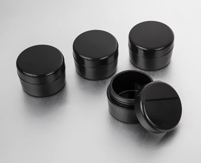 15g plastic cosmetic containers with lid