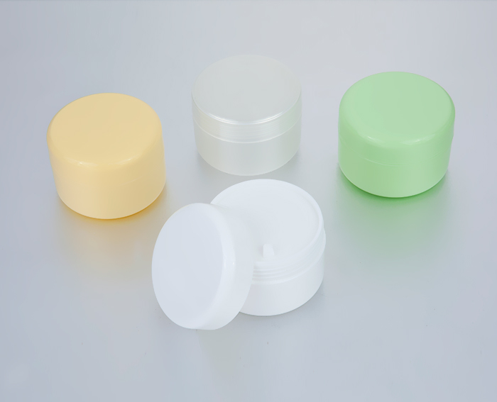 100g empty cosmetic plastic cream jar