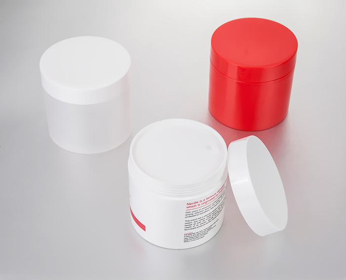 500g large plastic cosmetic jars