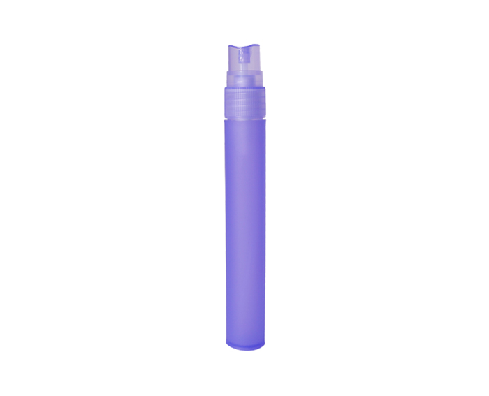 Refillable plastic spray bottles